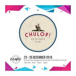 [CHULOP!] Hey guysss today's the day!!! Chulop! is participating in Celebfest this time round too! So remember, if you're