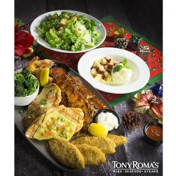 [Tony Roma's] Ready for a feast at Tony Roma's? Let's indulge in our Christmas Set Meals that are ideal for