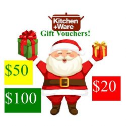 [Kitchen + Ware] Avoid the Christmas shopping mob and still tick off your last minute gift buying by gifting Kitchen+Ware gift cards