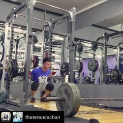 [Anytime Fitness] Stay safe this festive season #anytimers 👊👊👊 Glad this worked out ok @theterencechan - Rekt by whiskey last night, rekt by squat