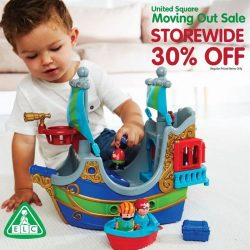 [Early Learning Centre] Moving out sale @ United Square! Enjoy 30% off all ELC toys (regular priced items only) from now till 2 Jan!