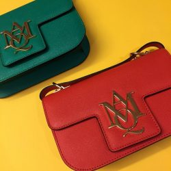 [The Fashion Gallery] Ruby or emerald? Decisions, decisions… Grab these jewel-toned leather satchels at our in-store @alexandermcqueen boutique at @thefashiongallery and