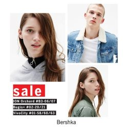 [Bershka] Our End Season Sale Starts Today! Head down to our stores now!