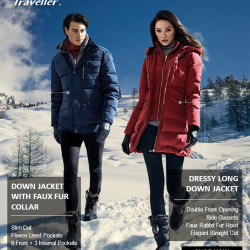 [Universal Traveller] Featuring our Down Jackets, who say winter fashion have to be boring?! Although Christmas is over, our sales ain't!