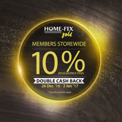 [Home-Fix Singapore] Still not a member of Home-Fix Gold? It's time to grab this opportunity and sign up with Home-