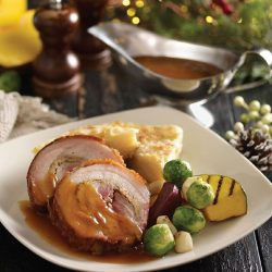 [Brotzeit German Bier Bar and Restaurant] Christmas is almost over… last chance to try one of our amazing Christmas dish – Pork Roulade. Using Brotzeit's specialty
