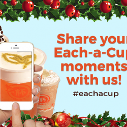 [Each A Cup] Take a snap and share with us your Each-a-Cup moment!For more updates and promos, like us here