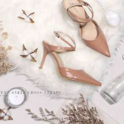 [Heatwave] Neutrals on your feet to complement the outfit — these stilettos will glam you up for the parties!  #newarrivals . . . #HeatwaveShoes #empoweredjourneys #