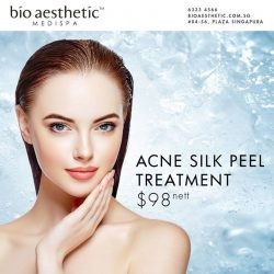 [Bio Aesthetic] Safe for even the most sensitive skin - the Silk Peel is the most thorough and gentle peel available that offers