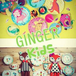 [Shabby Chic] Happy kids make a happy home!#gingerkids #ginger #melamine #bpafree #dishwashersafe #pasarbella #plazasingapura