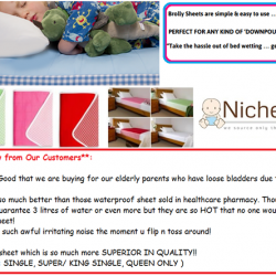 [Nichebabies] WHY BROLLY?? WHY IS BROLLY SHEET From New Zealand SO POPULAR, HOT SELLING n WELL RECEIVED n HIGHLY RECOMMENDED by
