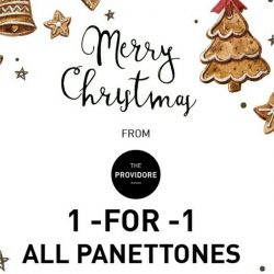 [The Providore] Christmas might be over but the celebrations continue on here at The Providore. Buy a panettone and get another one (