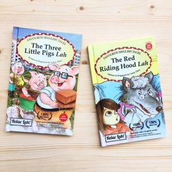[The Little Drom Store] Our favourite fairytales in Singlish! Now discounted at $14.90 each. #closingsale