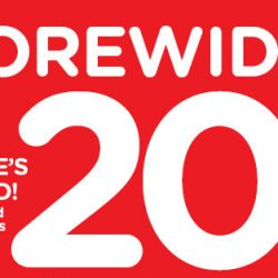 Watsons: 20% OFF Storewide Online with Min. $38 Nett Spend for Everyone!