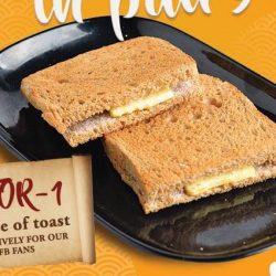 Wang Cafe: 1-for-1 Toast for FB Fans