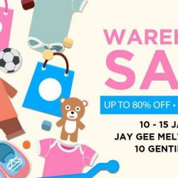 Jay Gee: Warehouse Sale with Up to 80% OFF Adidas Kids, Nike Young Athletes, Carter's, OshKosh B'Gosh & More