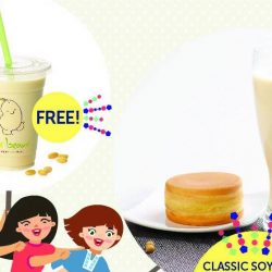 NETS: 50k FB Follower Celebration with FREE Cup of Mr Bean Soya Milk on 11 Jan 2017