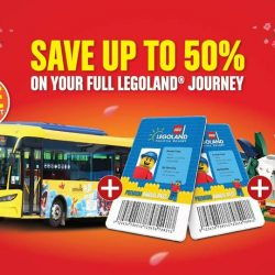 LEGOLAND Malaysia: Flash Sale - 50% OFF for 2nd Purchase + FREE Transport + FREE Limited Edition LEGO Collectible