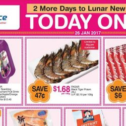 NTUC FairPrice: Special ONE-DAY Only Deals on Ribena, Tiger Prawns, Coca-Cola, Salmon & More!