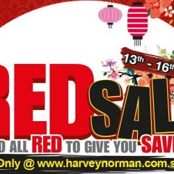 Harvey Norman: Red Sale + Coupon Code for $38 OFF Your Purchase