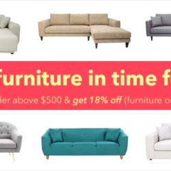 HipVan: Coupon Code for 18% OFF Furniture