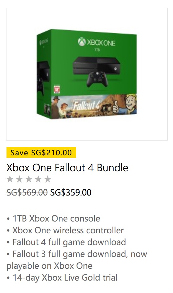Microsoft Store: After Holiday Sale Up to 47% OFF Xbox One & 15% OFF ...