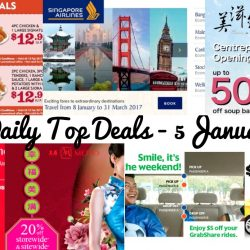 BQ's Daily Top Deals: $5 OFF ComfortDelGro & GrabShare, Popeyes Coupons, Emirates' Global Sale, SQ New Promo Fares, Metro 20% OFF Storewide & More!