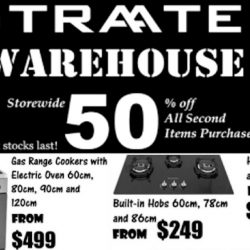 Straaten: CNY Warehouse Sale with 50% OFF 2nd Item Storewide!