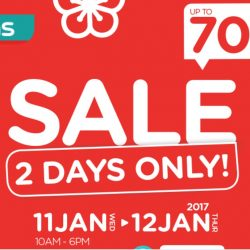 Watsons: 2 Days Only Sale Up to 70% OFF Fragrances, Supplements, New Moon Abalones & More!