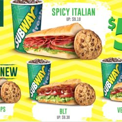 Subway: Everyday Value Meals at $5.90 Each