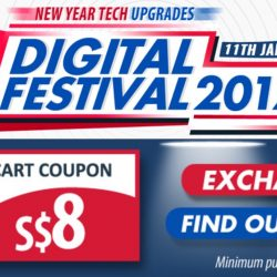 Qoo10: $8 Cart Coupon Up for Grabs & Digital Festival 2017