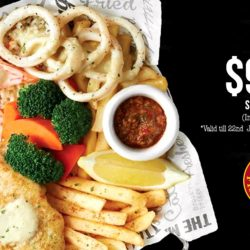 The Manhattan FISH MARKET: Small Grill Set Inclusive of a Drink at just $9.95 for a Limited Time Only!