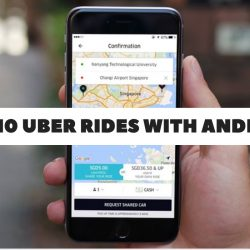 Uber: 50% off 10 Uber Rides with Android Pay