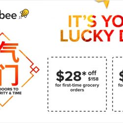 Honestbee: Lucky Day Sale with $28 OFF Your Order Today Only!