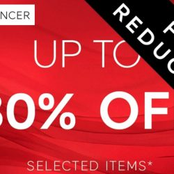 Marks and Spencer: Final Reductions of Up to 80% OFF Selected Items + Pay 20 Cents for One Scone!
