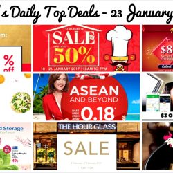 BQ's Daily Top Deals: iChef Warehouse Sale, Cotton On 38% OFF, Qoo10 Up to $88 Cart Coupons, Foodpanda 20% OFF, AirAsia ASEAN & Beyond Sale, $3 OFF GrabShare Rides & More!
