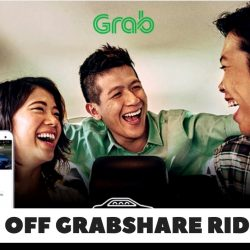 Grab: $3 OFF Your GrabShare Ride