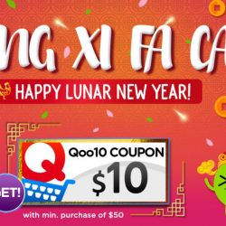 Qoo10: $10 Cart Coupon Up for Grabs Today!