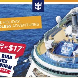 Royal Caribbean: 2-Day New Year Sale - 2nd Guest Cruises at $17