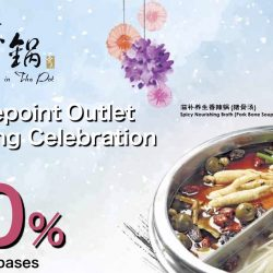 Beauty in The Pot: Centrepoint Outlet Opening Celebration Up to 50% OFF Soup Bases for Ladies who are Maybank & PGR Cardmembers