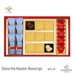 [Westgate Mall] What better way to usher in the Lunar New Year with some sweet blessings? Godiva Chocolatier (Asia) is sharing the