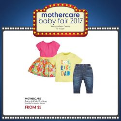 [Mothercare] FASHION FROM $5 | It's time to stock up on beautiful fashion pieces for your little fashionista this Baby Fair!