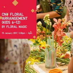 [Uniqlo Singapore] Join us at UNIQLO Orchard Central on 14 and 15 January with these free workshops to get ready for Chinese