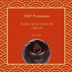 [iStudio] Never miss a moment with Fly360 HD and Fly360 4K.Limited offer now available at iStudio Paragon, Change Alley and