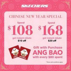 [Changi City Point] Step into this Chinese New Year with new kicks and get ready for a new start! Head down to Changi