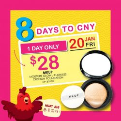 [Sasa Singapore] ARE YOU READY? Here you go for the #1 8 #HUAT Beauty Deals. Only for today, save ALMOST $8 when