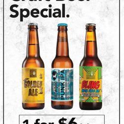 [Olivia & Co] SPECIAL PROMO CRAFT BEERS @ $6++! ~ Featured: Golden Ale, Punk IPA, Bling India Pale IPAStock em' up while you can