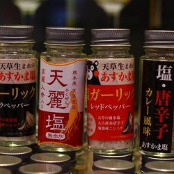[Wattention Plaza Japanese Kiosks] Season Your Food Perfectly with Salt from Kumamoto!A unique gift for a person who loves to cook, or even