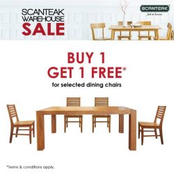 [Scanteak] Good things come in pairs and this is simply perfect for a meal with your loved ones! Our teak dining