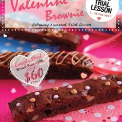[ABC Cooking Studio] Seasonal Trial Lesson - Valentine Brownie 💘 Brownie is the perfect cake to bake together with your loved one or group of